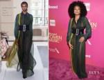 Taraji P. Henson In Schiaparelli Couture - Billboard Women In Music 2017