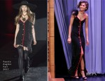 Zendaya Coleman In Fausto Puglisi - The Tonight Show Starring Jimmy Fallon