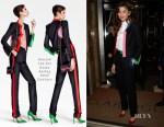 Zendaya Coleman In Ronald van der Kemp Couture, Stella Jean & Giuseppe di Morabito - Out In London