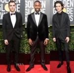 2018 Golden Globe Awards Menswear Roundup