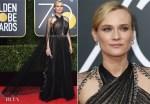 Diane Kruger In Prada - 2018 Golden Globe Awards