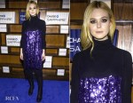 Elle Fanning In Miu Miu - 'I Think We're Alone Now' Sundance Film Festival Premiere After Party