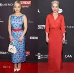 Emilia Clarke In Michael Kors & Elie Saab - The BAFTA Los Angeles Tea Party & HAITI RISING Gala