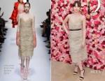 Felicity Jones In Ermanno Scervino - Cle de Peau Beaute Brand Relaunch