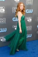 Jessica Chastain In Vionnet