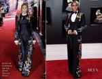 Janelle Monae In Dolce & Gabbana - 2018 Grammy Awards