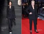 Meryl Streep In Alexander McQueen - 'The Post' London Premiere
