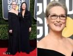 Meryl Streep In Vera Wang - 2018 Golden Globe Awards