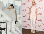 Saoirse Ronan In Cushnie et Ochs - 2018 AFI Awards