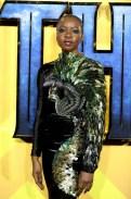 Danai Gurira In Jean-Louis Sabaji - 'Black Panther' London Premiere