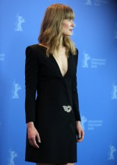 Rosamund Pike In Givenchy - '7 Days in Entebbe' Berlinale International Film Festival Photocall