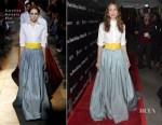 Michelle Monaghan In Carolina Herrera - 'The Vanishing Of Sidney Hall' LA Premiere