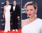 Princess Charlene of Monaco In Stella McCartney - 2018 Laureus World Sports Awards