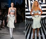 Rita Ora In Francesco Scognamiglio Couture - Warner Music Group & Ciroc Brit Awards Party