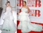 Rita Ora In Ralph & Russo Couture - The BRIT Awards 2018