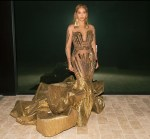 Beyonce Knowles In Falguni Shane Peacock - 2nd Annual Wearable Art Gala