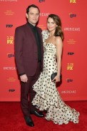 Keri Russell and Matthew Rhys attend Premiere of 'The Americans' Season 6