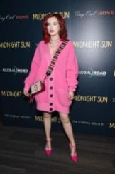 Bella Thorne In Marc Jacobs - 'Midnight Sun' New York Screening