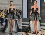 Hailee Steinfeld In Giambattista Valli Couture - 2018 Vanity Fair Oscar Party