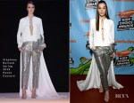 Hailee Steinfeld In Stéphane Rolland Haute Couture - Nickelodeon's 2018 Kids' Choice Awards