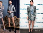 Kate Mara In Alice + Olivia - SiriusXM