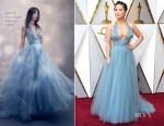 Kelly Marie Tran In Jenny Packham - 2018 Oscars