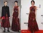 Olga Kurylenko In Christian Dior - César Awards 2018