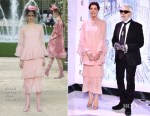Princess Caroline of Hanover In Chanel Couture - 2018 Rose Ball