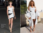 Beyonce Knowles In Alexander Wang - Golden State Warriors Game