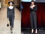 Dakota Johnson In Dolce & Gabbana & Attico - 'Suspiria' CinemaCon Presentation