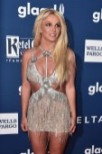 Britney Spears In Giannina Azar - 2018 GLAAD Media Awards Los Angeles