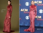 Jennifer Nettles In J. Mendel - 2018 ACM Awards