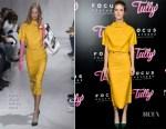 Mackenzie Davis In Calvin Klein - 'Tully' LA Premiere