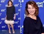Milla Jovovich In Prada - Montblanc Meisterstuck Le Petit Prince Event