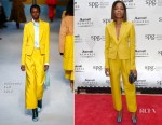 Naomie Harris In Roksanda - Marriot International Loyalty Programme Launch Party
