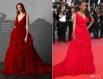 Aja Naomi King In Pamella Roland - 'Ash Is The Purest White (Jiang Hu Er Nv) Cannes Film Festival Premiere