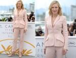 Cate Blanchett In Stella McCartney - 2018 Cannes Film Festival Jury Photocall