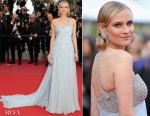 Diane Kruger In Armani Prive - 'Sink Or Swim (Le Grand Bain)' Cannes Film Festival Premiere