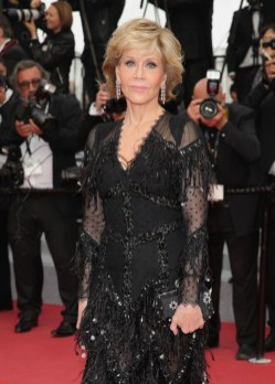 Jane Fonda In Givenchy Haute Couture