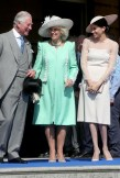 Prince Charles, Prince of Wales, Camilla, Duchess of Cornwall and Meghan, Duchess of Sussex attend The Prince of Wales' 70th Birthday Patronage Celebration held at Buckingham Palace