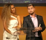 Leona Lewis and Lance Bass attend the 28th Annual Environmental Media Awards