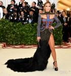 Jennifer Lopez In Balmain - 2018 Met Gala