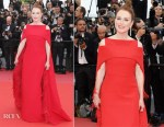 Julianne Moore In Givenchy Haute Couture - 'Everybody Knows' Cannes Film Festival Screening