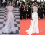Lupita Nyong'o In Christian Dior Couture - 'Sorry Angel (Plaire, Aimer Et Courir Vite)' Cannes Film Festival Premiere
