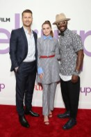 Glen Powell, Zoey Deutch, and Taye Diggs attend a special screening of the Netflix film 'Set It Up'