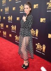 Alison Brie In Sandy Liang