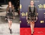 Kristen Bell In Julien Macdonald - 2018 MTV Movie And TV Awards