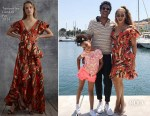 Beyonce Knowles In Temperley London - Sailing In Cannes