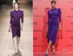 Irina Shayk In Isabel Marant - Vogue España 30th Anniversary Party
