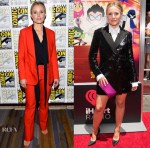 Kristen Bell In Anine Bing & Osman - Comic-Con 2018: 'The Good Place' Press Line &  'Teen Titans Go! To The Movies' LA Premiere
